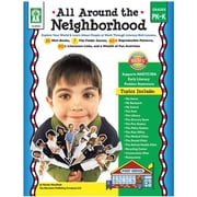Carson Dellosa Publications All Around The Neighborhood Book