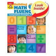 Evan-Moor Math Fluency Grade 1 Book