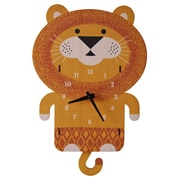 Modern Moose Lion Pendulum Wall Clock