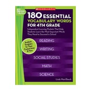 Scholastic 180 Essential Vocabulary Words Book