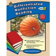 Teacher Created Resources Differentiated Nonfiction Reading Book
