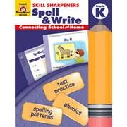 Evan-Moor Spell and Write Kindergarten Book