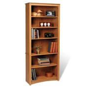 Prepac Sonoma 77'' Bookcase; Maple