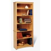 Prepac Sonoma 77'' Bookcase; Oak