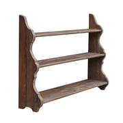 White x White Pine 3-tier Shelf