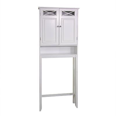 Elegant Home Fashions Dawson 25'' x 68'' Over the Toilet Cabinet