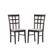 Warehouse of Tiffany Tiffany Justin Side Chair (Set of 4); Grey