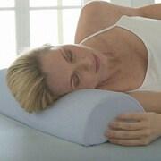 Deluxe Comfort 4-in-1 Soft Half Moon Bolster Memory Foam Neck Pillow