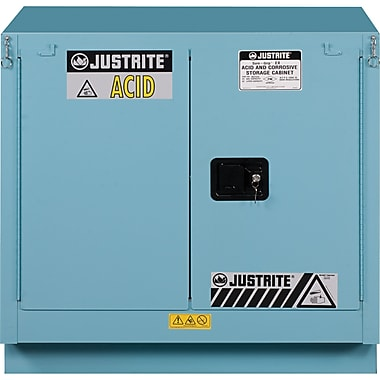 Justrite® Sure-Grip® Ex Acid/Corrosive Storage Cabinets, 2 Doors, Manual, Undercounter, : 35
