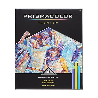 PrismaColour Premier Art Stix Coloured Pencils, 48/Pack