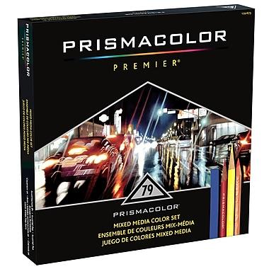 PrismaColour Premier 79-Piece Mixed Media Set, Assorted Colours