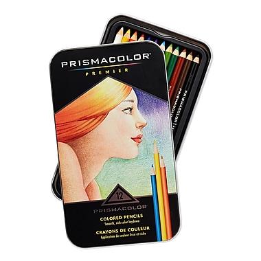 PrismaColour Premier Soft Core Coloured Pencils, 12/Pack