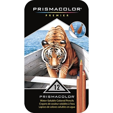 PrismaColour WaterColour Pencil Set, 12/Pack