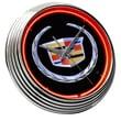 On The Edge Marketing Cadillac Crest Neon Clock