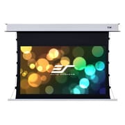 Elite Screens Evanesce White Electric Projection Screen; 100'' Diagonal