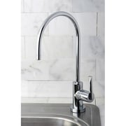 Kingston Brass Continental Gourmetier Water Filtration Kitchen Faucet; Polished Chrome