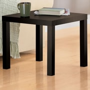 DHP Parsons End Table; Espresso