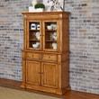 Home Styles Americana Buffet and Hutch; Oak