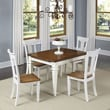 Home Styles Americana 5 Piece Dining Set; White