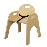 Wood Designs Wood Classroom Chair; 9''