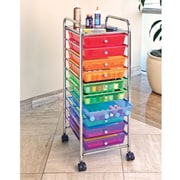 Rebrilliant 10-Drawer Storage Chest; Multi