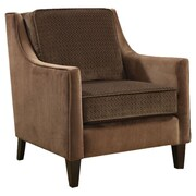 Wildon Home   Contrasting Velvet Chair
