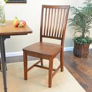 Carolina Cottage Hudson Dining Chair; Chestnut