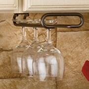 Rev-A-Shelf Hanging Wine Glass Rack; Oil Rubbed Bronze