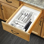 Rev-A-Shelf Medium Cutlery Organizer; White