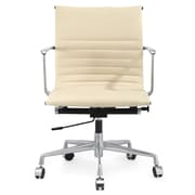 Meelano Executive Managerial Chair; Beige