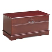 Wildon Home   Cherry Cedar Chest w/ Locking Lid