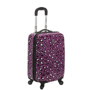Rockland 20'' Spinner Suitcase; Purple