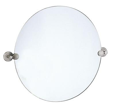 Gatco Latitude Wall Mirror; Satin Nickel