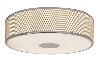 TransGlobe Lighting Diamond Grill 4 Light Flush Mount WYF078275800081