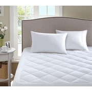 Sleep Philosophy Scotchguard Waterproof Mattress Pad; California King