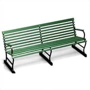 Algoma Net Company Traditional Wood and Metal Garden Bench; 72''
