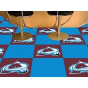 FANMATS NHL - Chicago Blackhawks Team Carpet Tiles; Colorado Avalanche