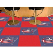 FANMATS NHL - Chicago Blackhawks Team Carpet Tiles; Columbus Blue Jackets