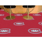 FANMATS NHL - Chicago Blackhawks Team Carpet Tiles; Montreal Canadiens