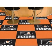 FANMATS NHL - Chicago Blackhawks Team Carpet Tiles; Philadelphia Flyers
