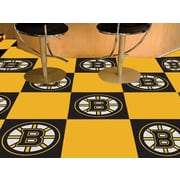 FANMATS NHL - Chicago Blackhawks Team Carpet Tiles; Boston Bruins