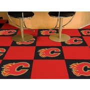FANMATS NHL - Chicago Blackhawks Team Carpet Tiles; Calgary Flames