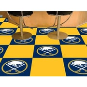 FANMATS NHL - Chicago Blackhawks Team Carpet Tiles; Buffalo Sabres