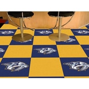 FANMATS NHL - Chicago Blackhawks Team Carpet Tiles; Nashville Predators