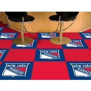 FANMATS NHL - Chicago Blackhawks Team Carpet Tiles; New York Rangers