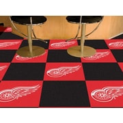 FANMATS NHL - Chicago Blackhawks Team Carpet Tiles; Detroit Red Wings