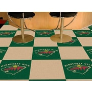 FANMATS NHL - Chicago Blackhawks Team Carpet Tiles; Minnesota Wild