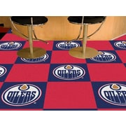 FANMATS NHL - Chicago Blackhawks Team Carpet Tiles; Edmonton Oilers