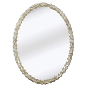 Majestic Mirror Contemporary Oval Wall Mirror
