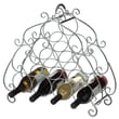 CBK Scroll 10 Bottle Wine Rack